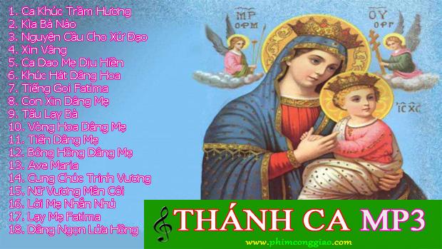 Thánh ca dâng Mẹ Maria – LM. Nguyễn Sang